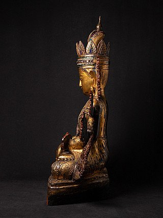 Very special - large Shan Buddha statue