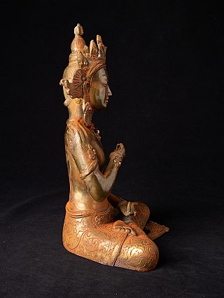 Bronze Vajrasattava statue