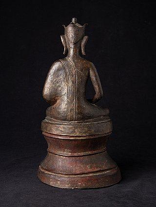 Antique bronze Burmese Buddha