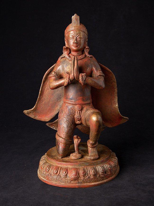 Alte bronze Garuda Figur