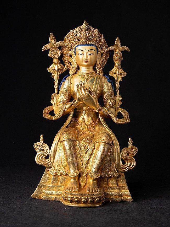 Newly made Nepali Maitreya Buddha