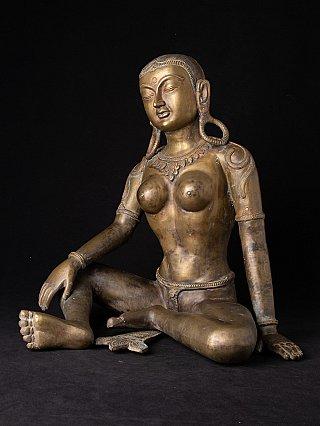 Alte bronze Parvati Figur
