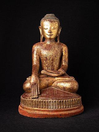 Special antique Burmese Ava Buddha statue