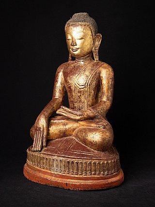 Bijzondere antieke Birmese Ava Boeddha