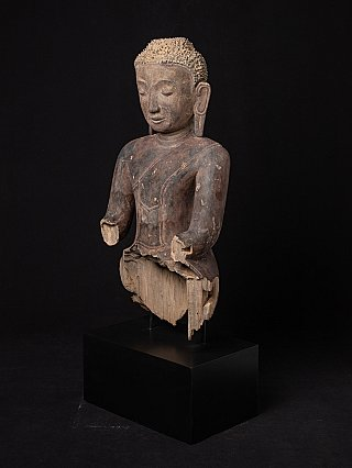 17e eeuwse antieke Buste van Boeddhabeeld