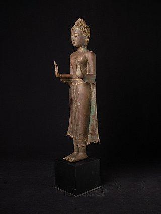 Large bronze Thai Buddha statue