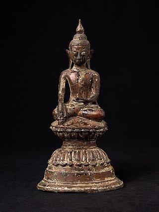 Antieke bronzen Ava Boeddha