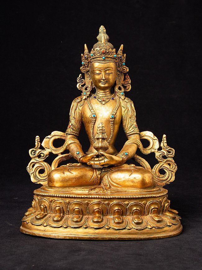 Old Nepali Aparmita Buddha statue