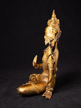 Old bronze Nepali Lokeshwar statue