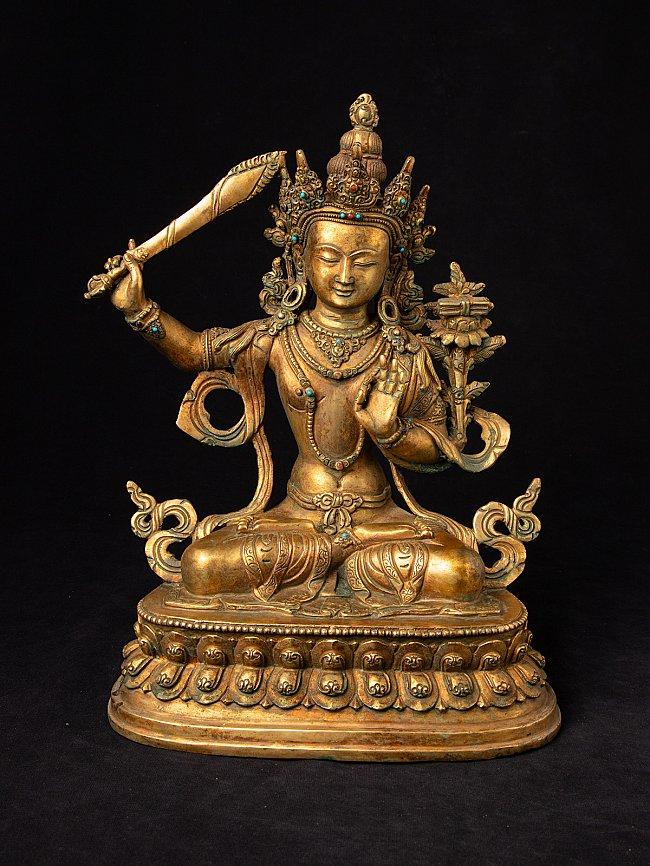 Old Nepali Manjushree statue