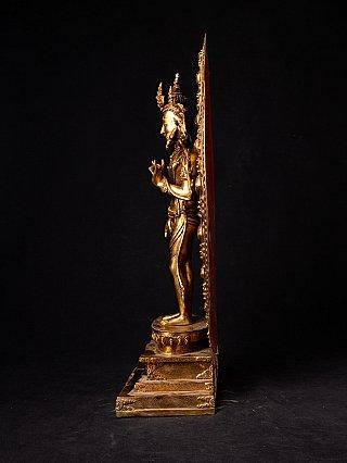 Old Nepali Lokeshwor statue - high quality