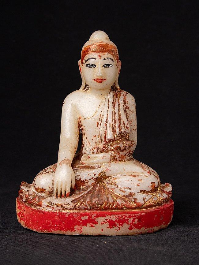 Antique marble Mandalay Buddha