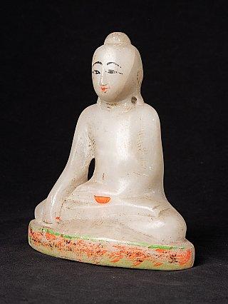 Antieke marmeren Mandalay Boeddha