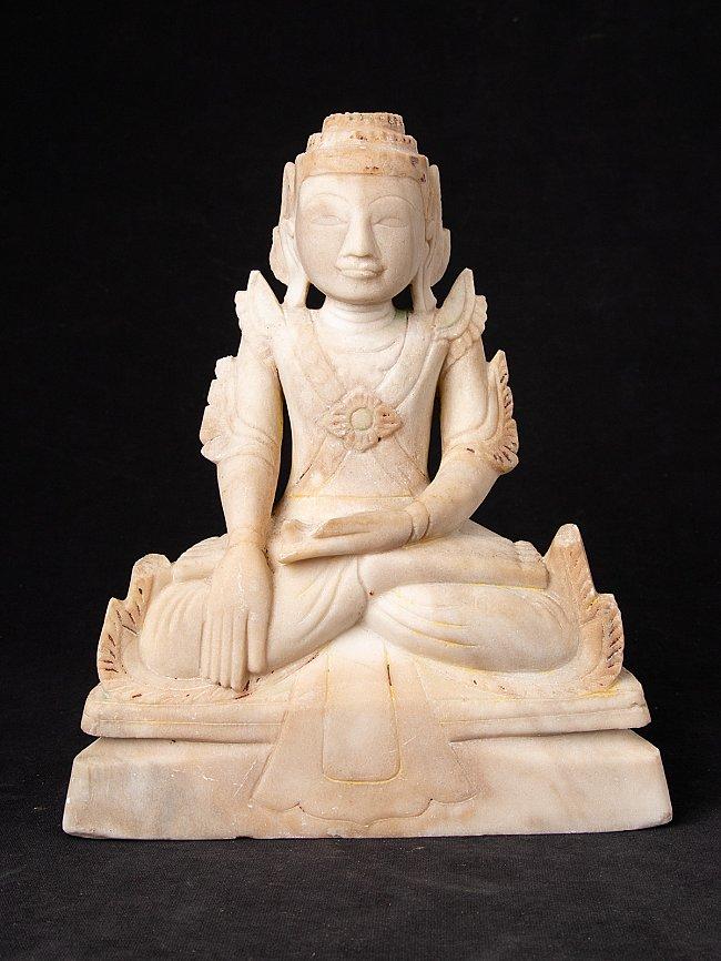 Antike gekrönte Shan Buddhafigur