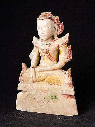Antieke marmeren Shan Boeddha