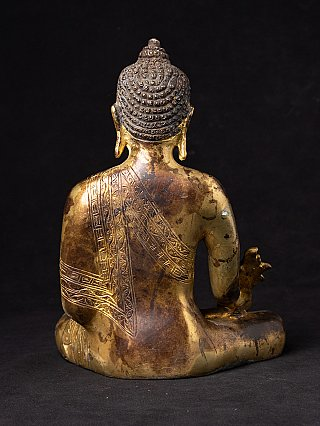 Bronze Medicine Buddha statue
