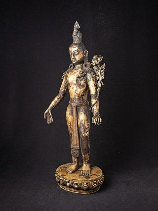 Antique Nepali Lokeswar statue