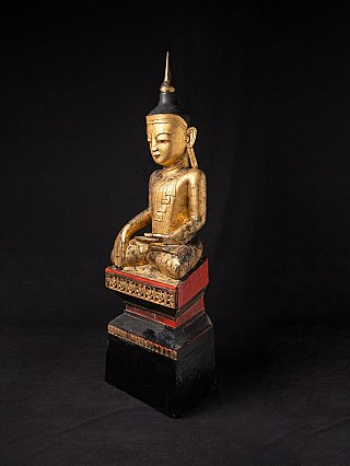Large and special antique Shan Buddha