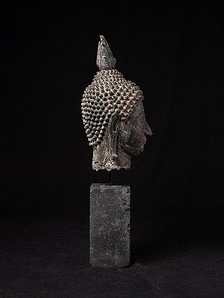 Oud bronzen Sukhothai Boeddhahoofd