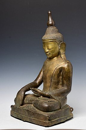 Very special bronze Shan Buddha