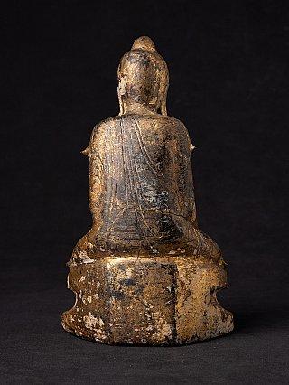 Antique gilded Shan Buddha statue