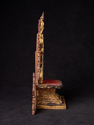 Antique Burmese throne