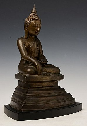 18th century bronze Shan Buddha