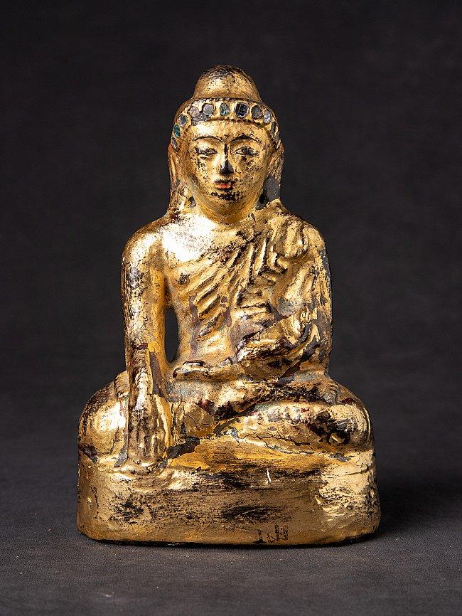 Antieke stenen Mandalay Boeddha