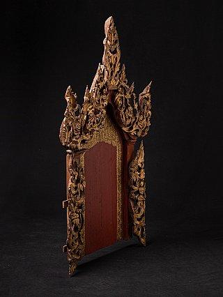 Antiek Birmees tempel paneel