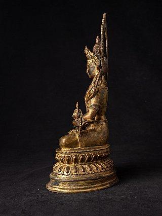 Oude bronzen Aparmita Boeddha