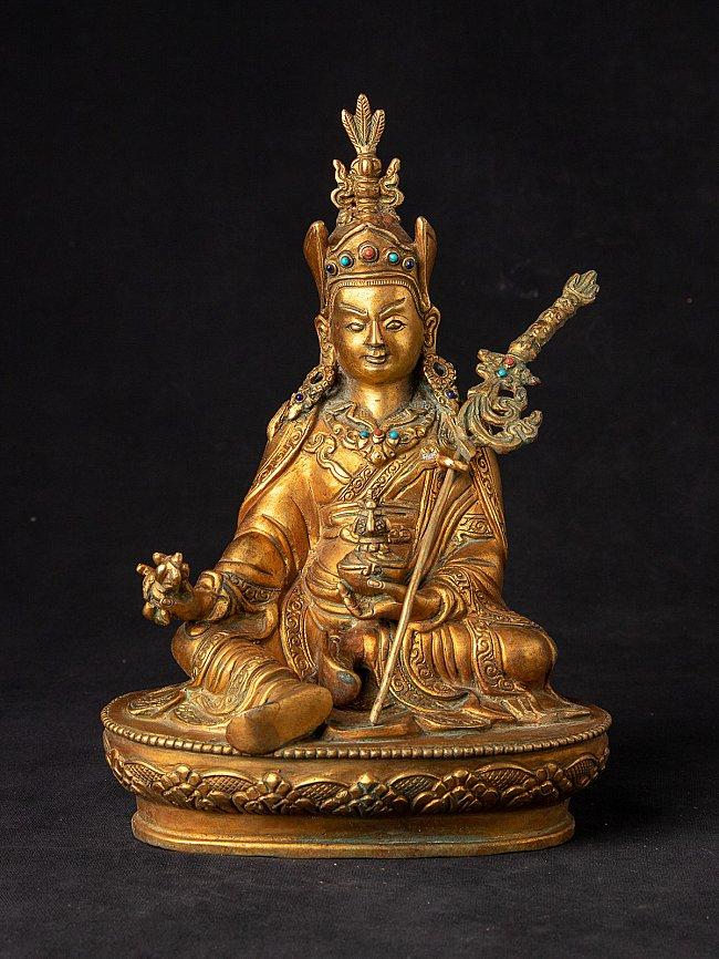 Old Nepali bronze Padmasambhava statue