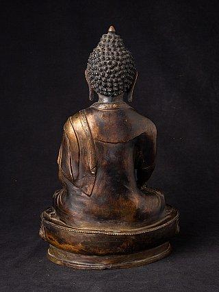 Old bronze Nepali Buddha statue