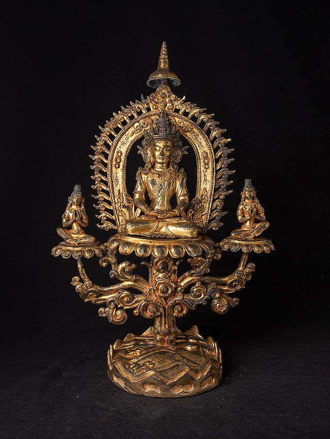 Very special antique Nepali Buddha statue