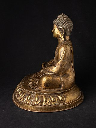 Antique Japanese Amida Buddha statue