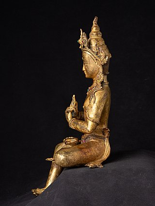 Antique Nepali Bodhisattva statue