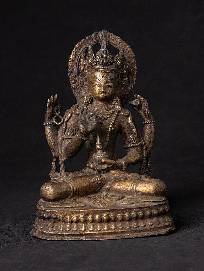 Antique bronze Nepali Prajnaparamita statue