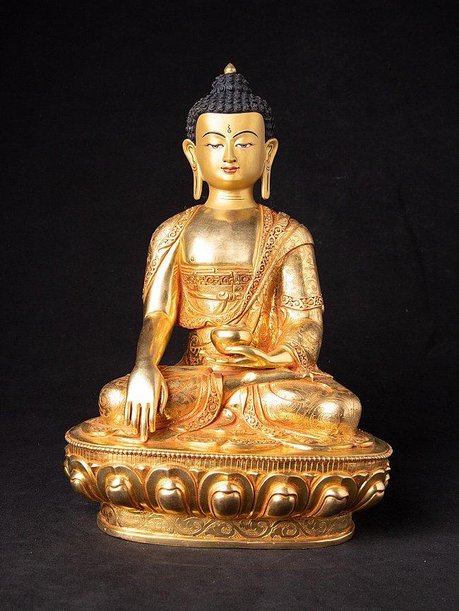 Newly made bronze Nepali Buddha statue