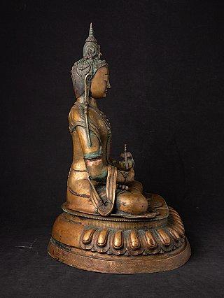Large bronze Aparmita Buddha statue