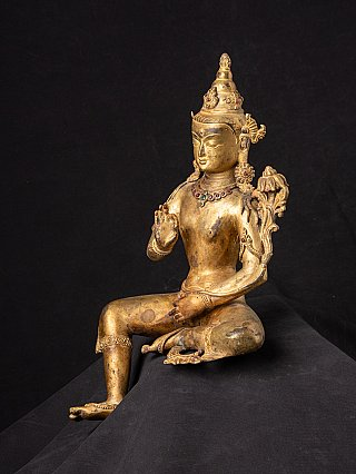 Old Nepali Lokeshvara statue