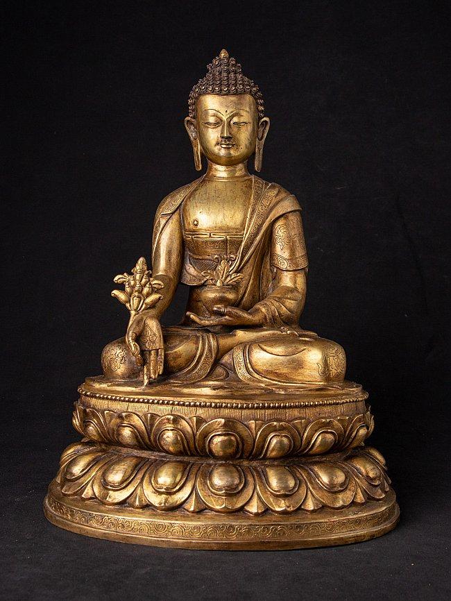 Alte bronze Medizin Buddhafigur