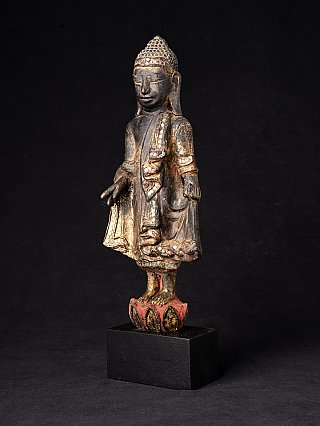 Antique Burmese Mandalay Buddha