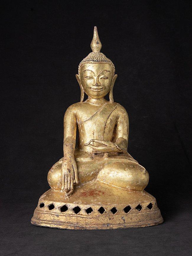 Bijzondere antieke bronzen Ava Boeddha