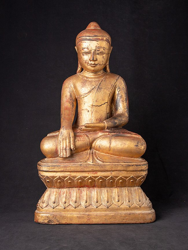 Special & early antique Burmese Ava Buddha statue