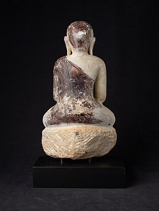 18th century Burmese marble Monk