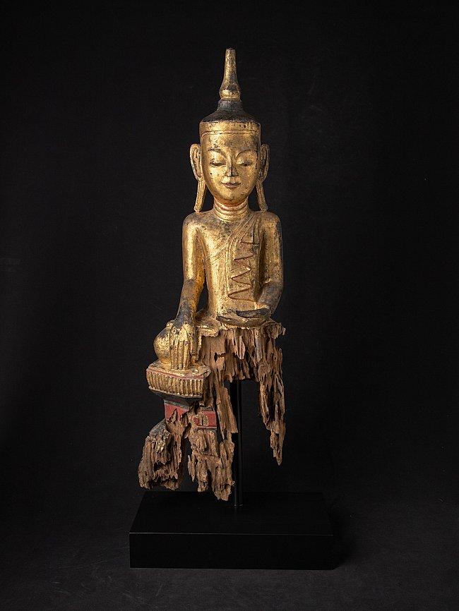 Large antique Burmese Shan Buddha