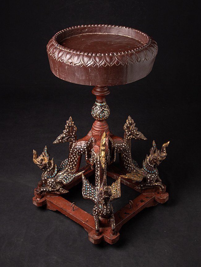 Antique table / furniture from Burmese temple