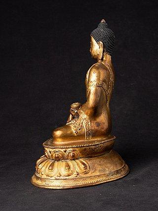 Alte bronze Nepal Buddhafigur