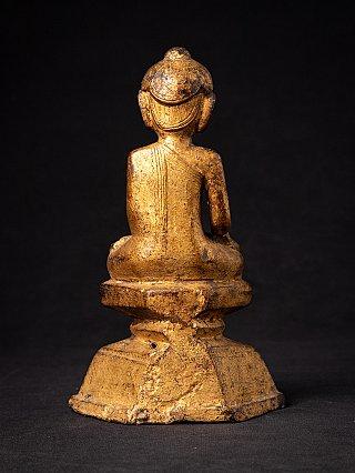 Antieke bronzen Birmese Shan Boeddha