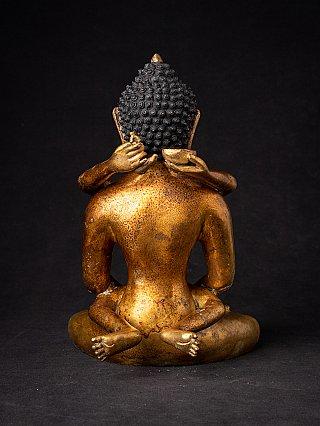 Antique Buddha Shakti statue - Yab-Yum