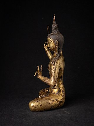Antique Nepali Manjushree statue